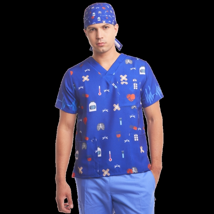 printed scrubs