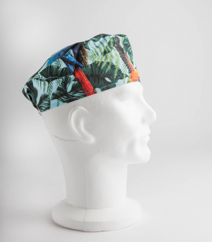 Parrot Paradise Surgeons Hat 100% Cotton