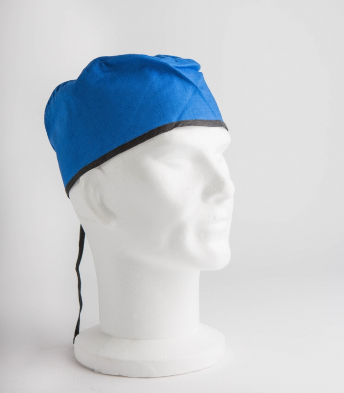 Royal Blue Surgeons Hat 100% Cotton