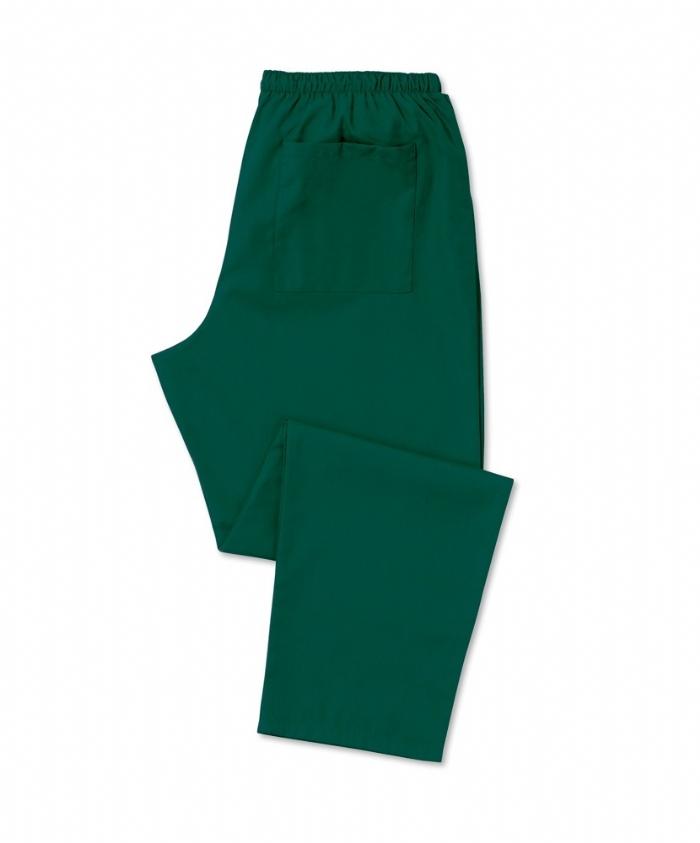 Bottle Green Scrub Trousers 100% Cotton