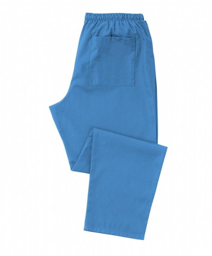 Hospital Blue Scrub Trousers 100% Cotton