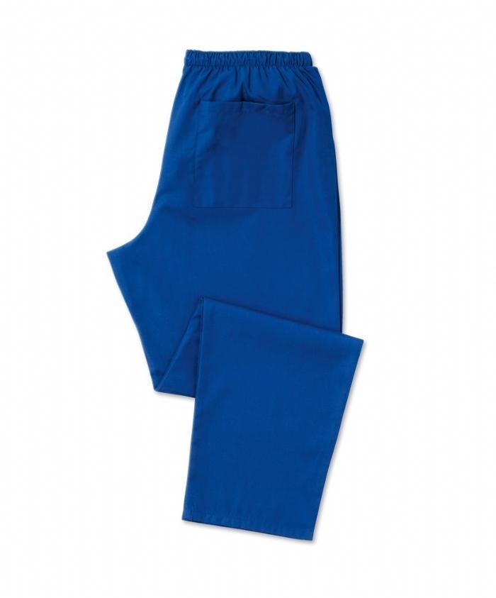 Royal Blue Scrub Trousers 100% Cotton