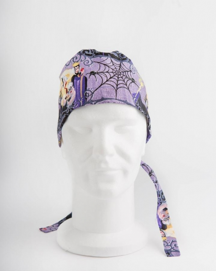 Disney Villains Surgeons Hat 100% Cotton