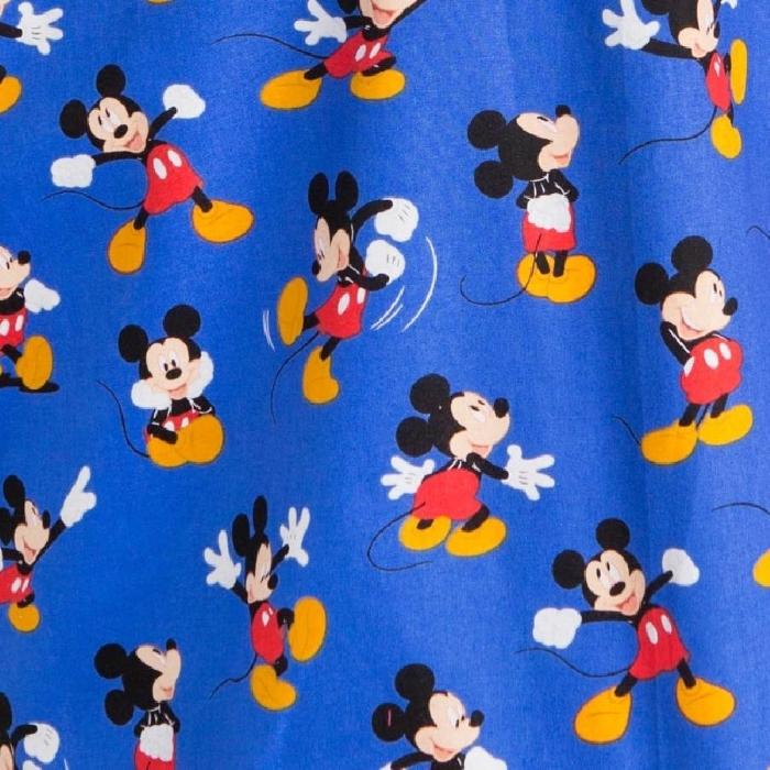 Disney Blue Micky Mouse Surgeons Hat 100% Cotton
