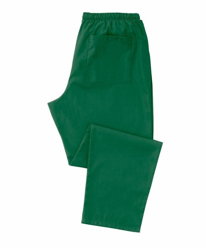 Emerald Green Scrub Trousers 100% Cotton