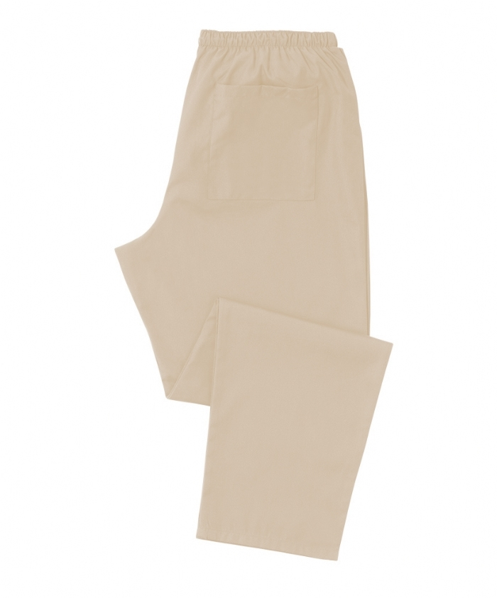 Beige Scrub Trousers 100% Cotton
