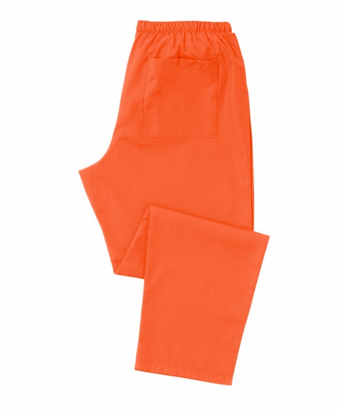 Orange Scrub Trousers 100% Cotton