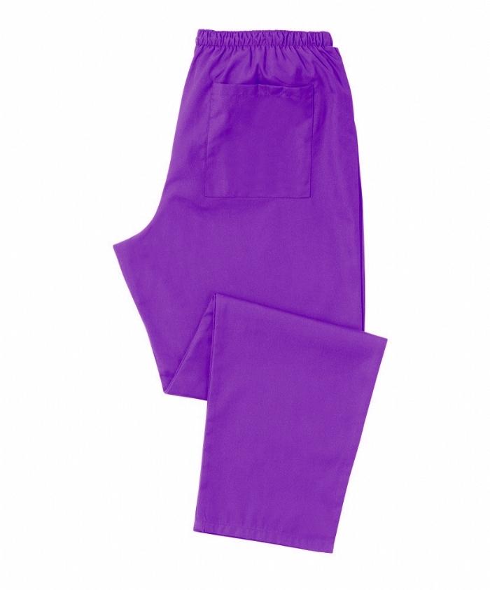 Purple Scrub Trousers 100% Cotton