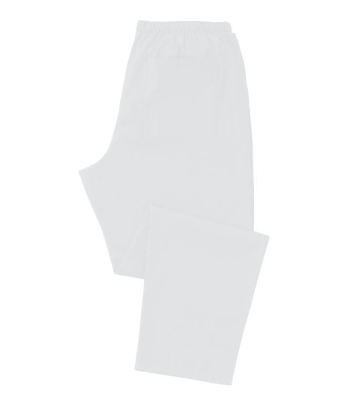 White Scrub Trousers 100% Cotton