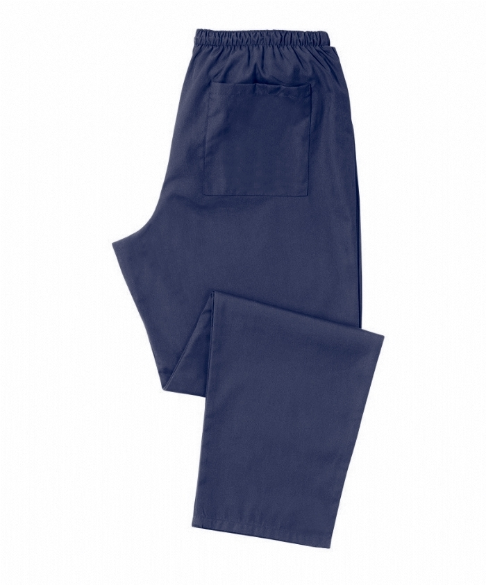Navy Scrub Trousers 100% Cotton