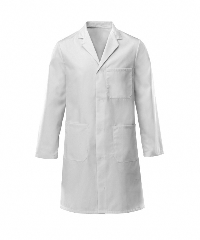 Lab Coat Stud 100% Cotton