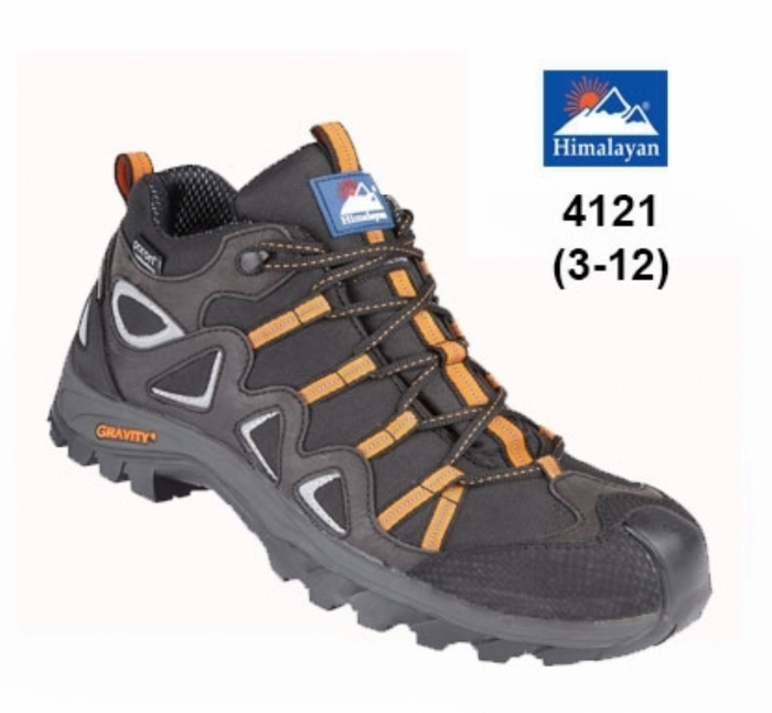 HIMALAYAN Black Gravity TRXII ''Poron'' Waterproof Hiker with Metal Free Cap/Midsole & Gravity Sole