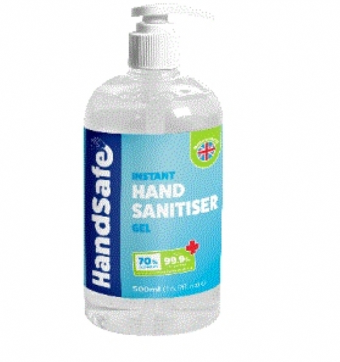 Hand Sanitiser 70% Alcohol