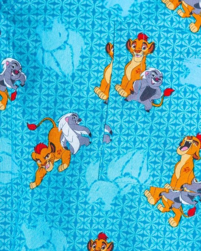 Disney Lion King II Short Sleeve Scrub Top 100% Cotton