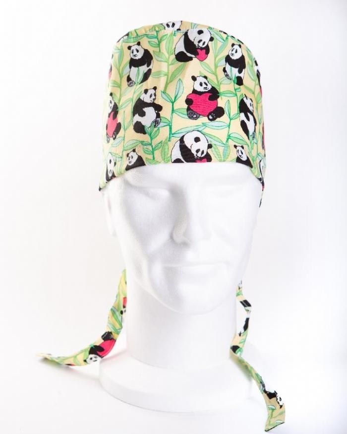 Loved Up Panda Hat 100% Cotton