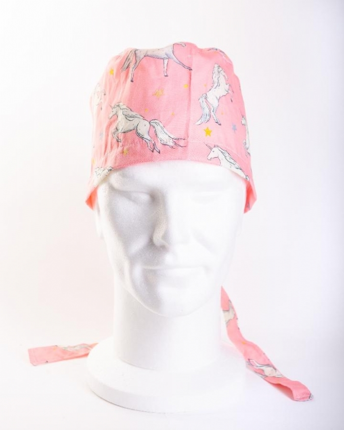 Pink Magical Unicorn Hat 100% Cotton