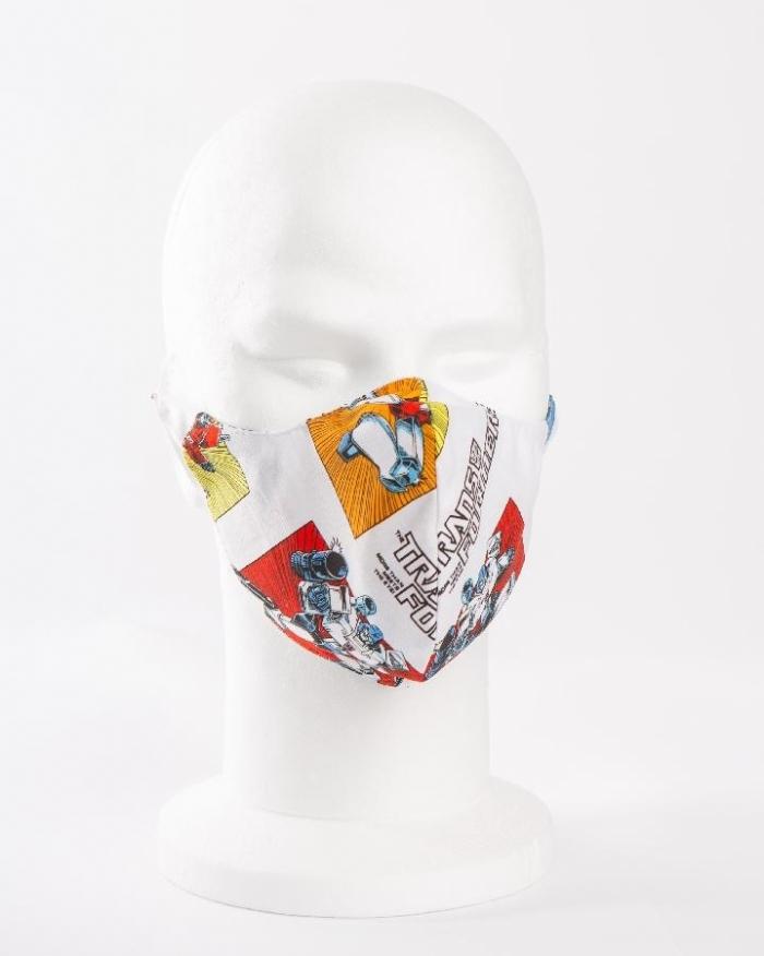 Transformers 100% cotton face masks