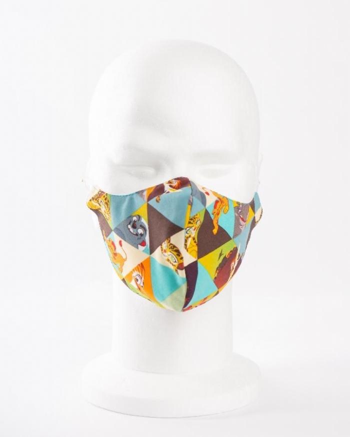 Disney lion king 100% cotton face masks