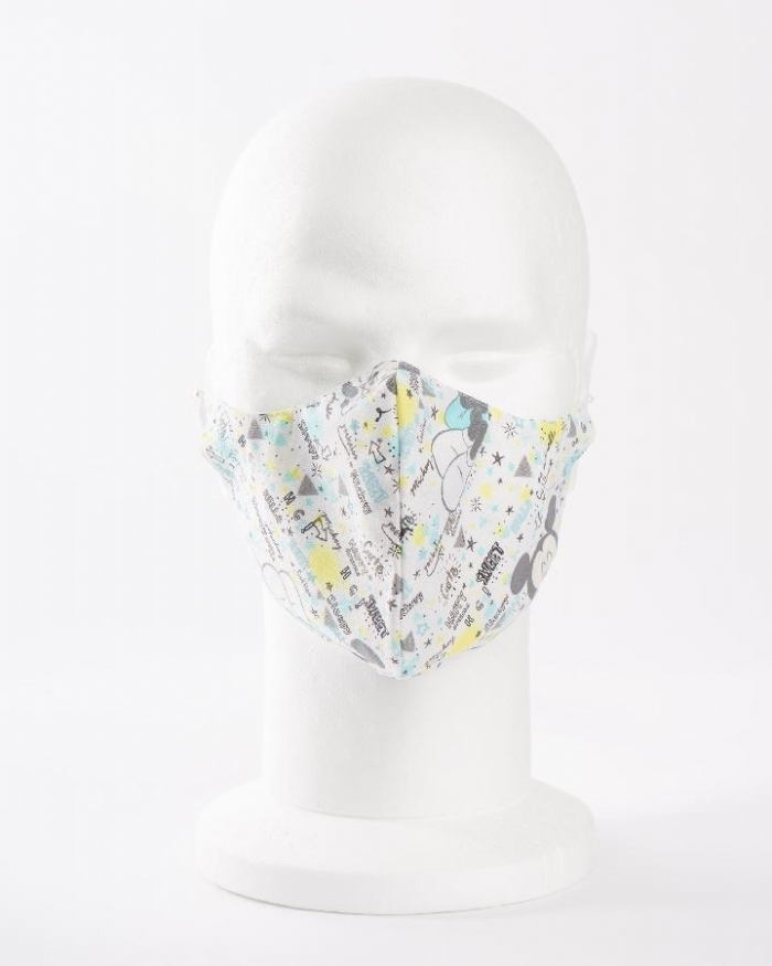 Disney Sleeping Micky Mouse 100% cotton face masks