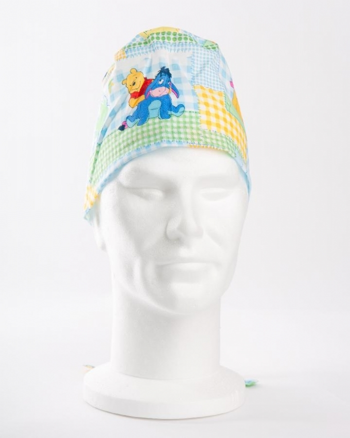 Disney Winnie The Poo & Friends Surgeons Hat 100% Cotton