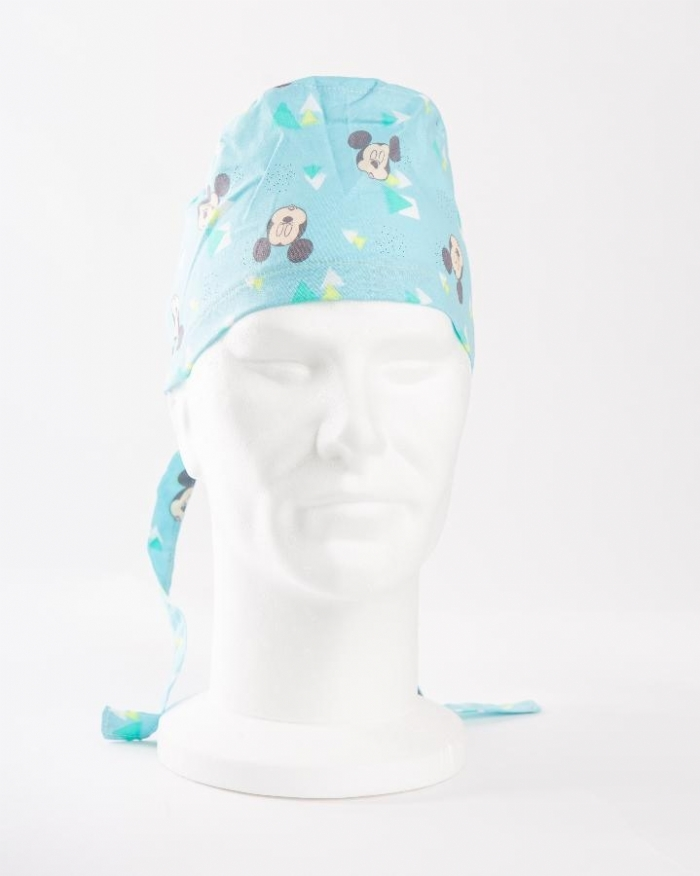 Disney Sleepy Micky Mouse Surgeons Hat 100% Cotton