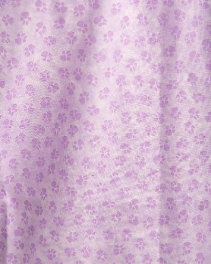Purple Paws Surgeons Hat 100% Cotton