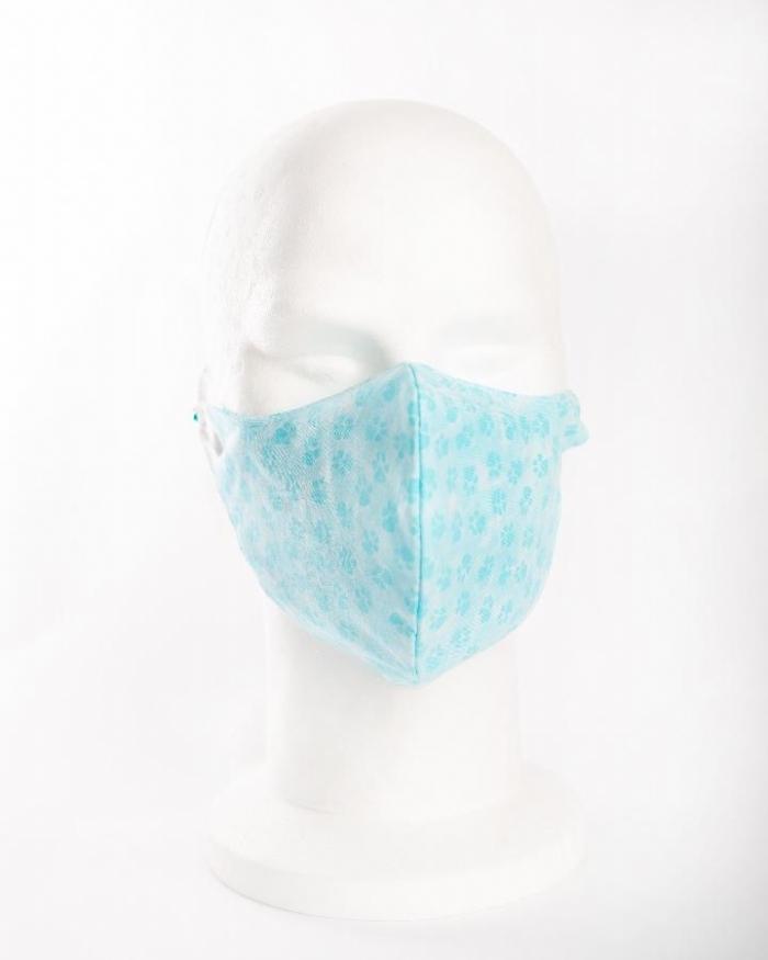 Blue Paws 100% cotton face masks