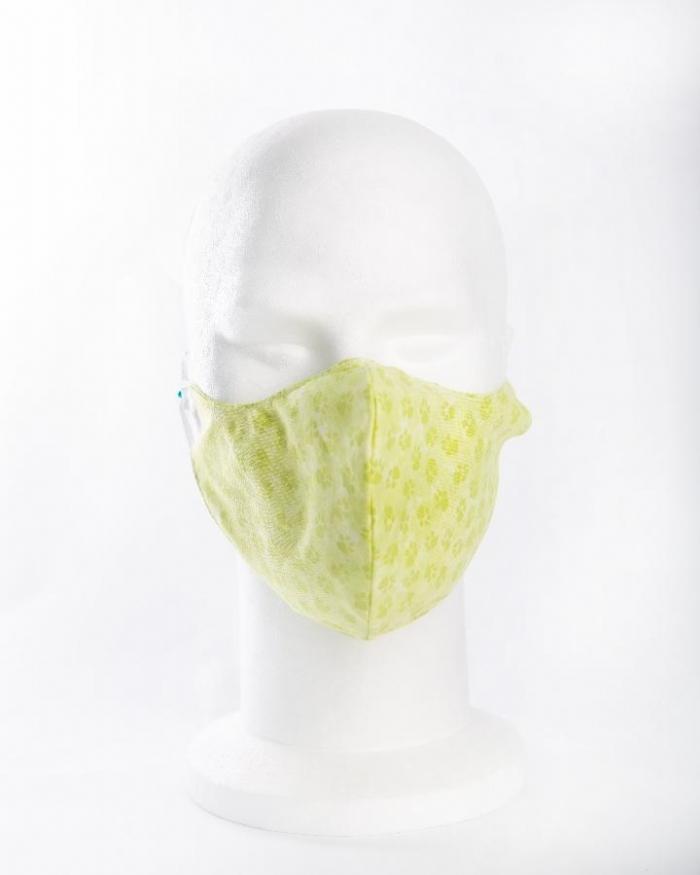 Green Paws 100% cotton face masks