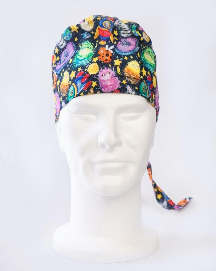 Monsters And Starships Surgeons Hat 100% Cotton