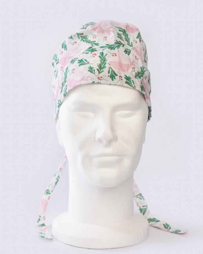 Pink Dove Surgeons Hat 100% Cotton