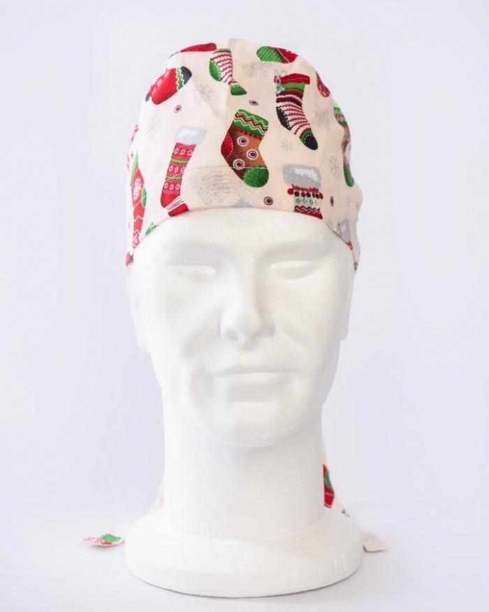 Christmas Elfs Stockings Surgeons Hat 100% Cotton